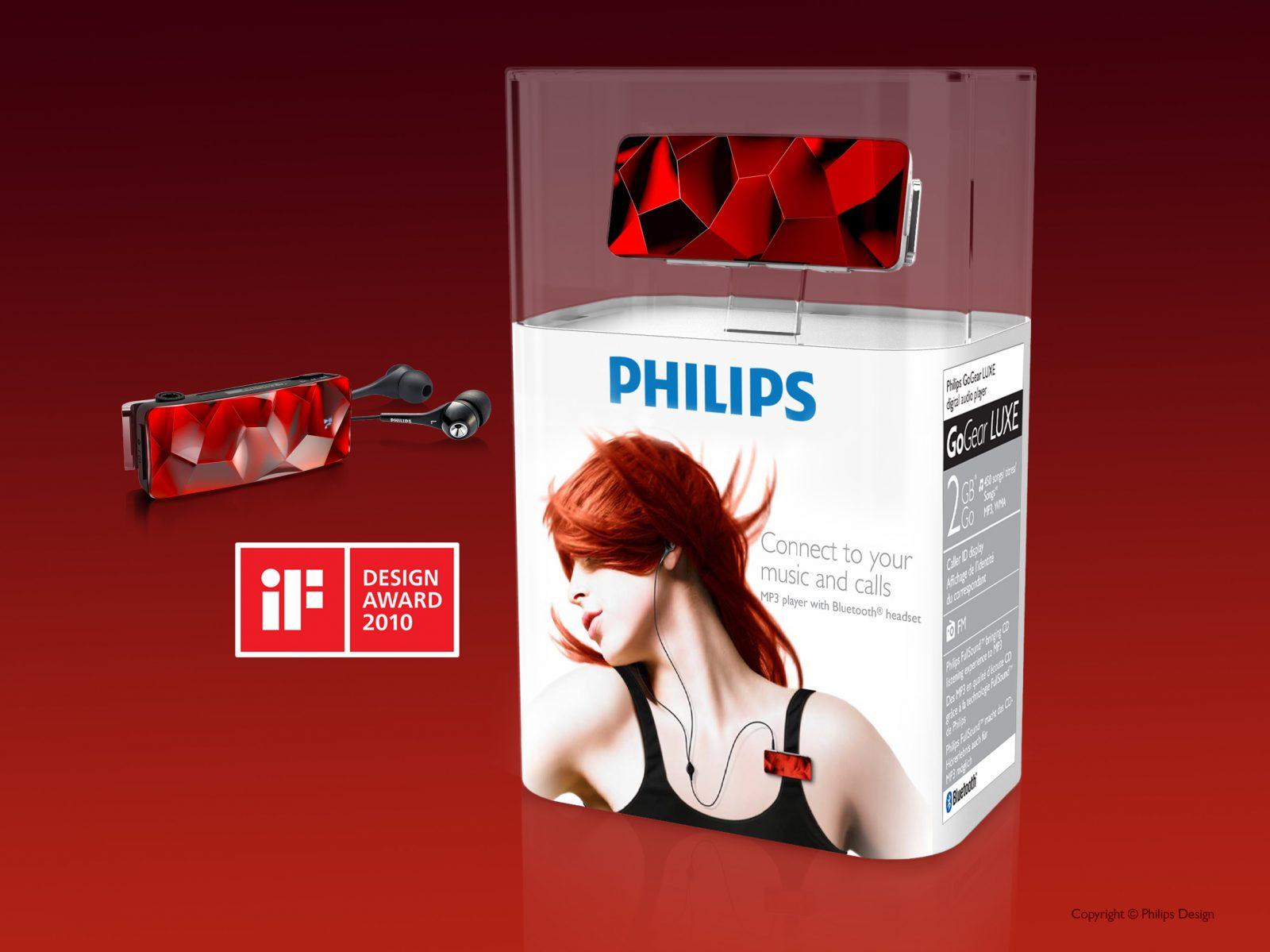 Luxury music player packaging