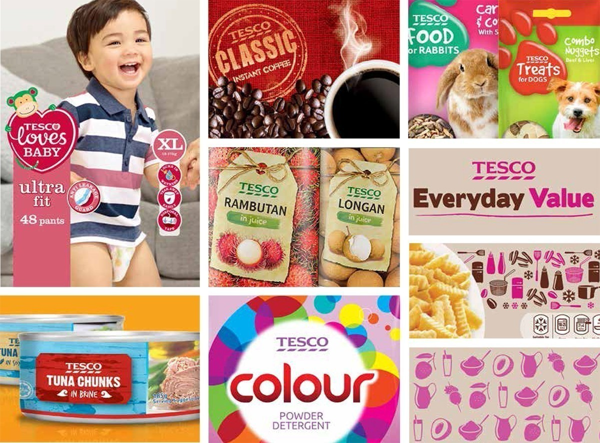 Design Management for Tesco