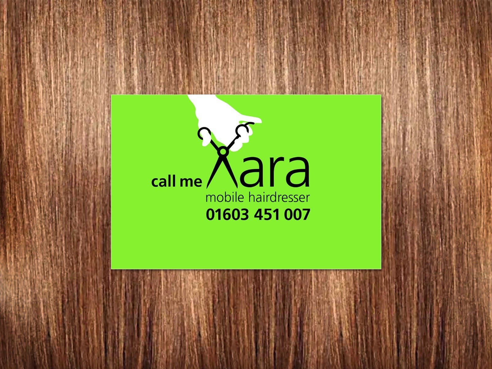 New Identity Design for a local hairdresser