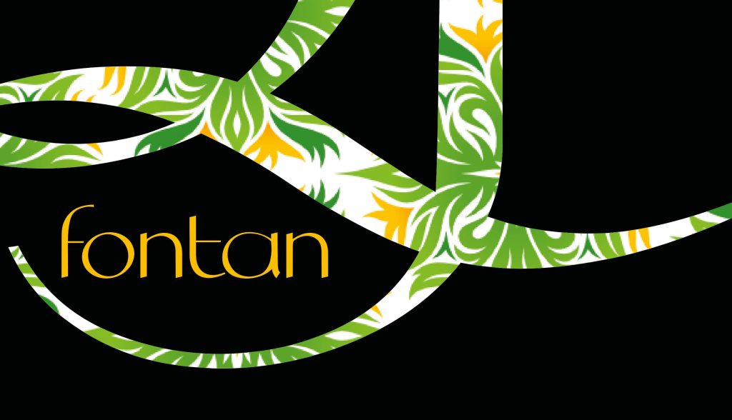 Flourishes of Fontan typeface