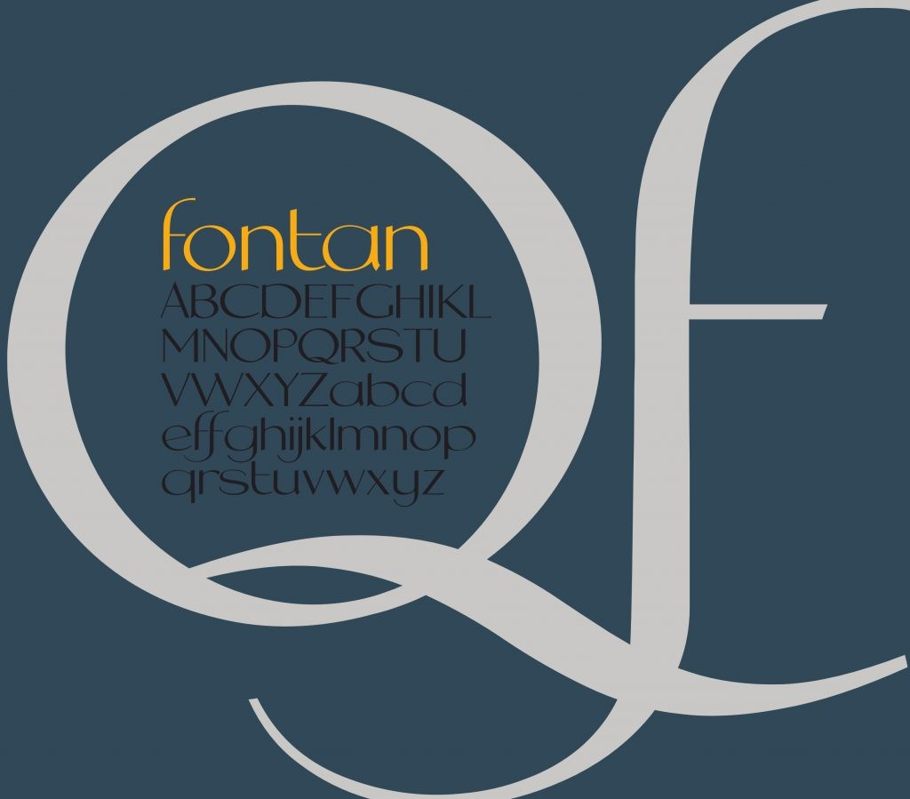 fontan typeface banner